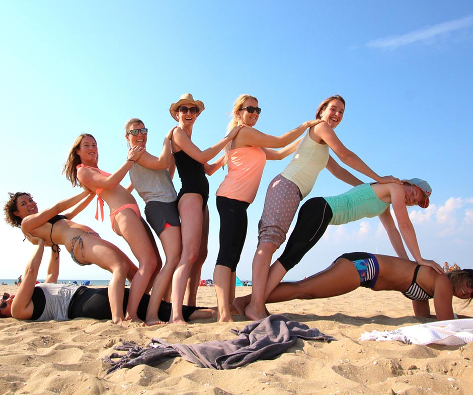 yoga parties retreats